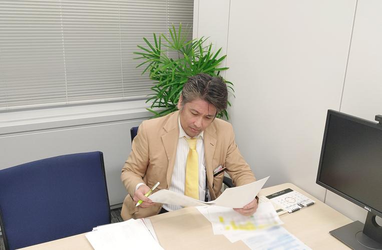レイシャス決済管理部担当者の写真「資産を正確にお引渡しすること」